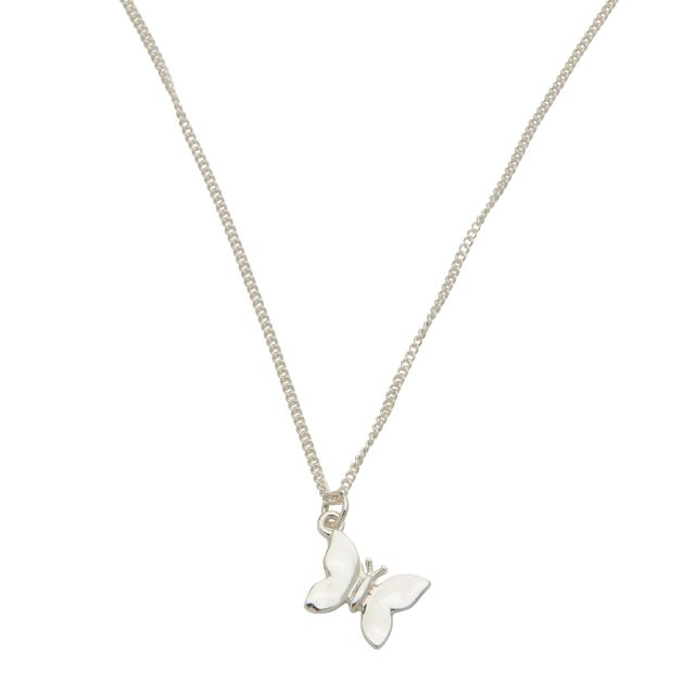 Milly neck 45 plain Silver