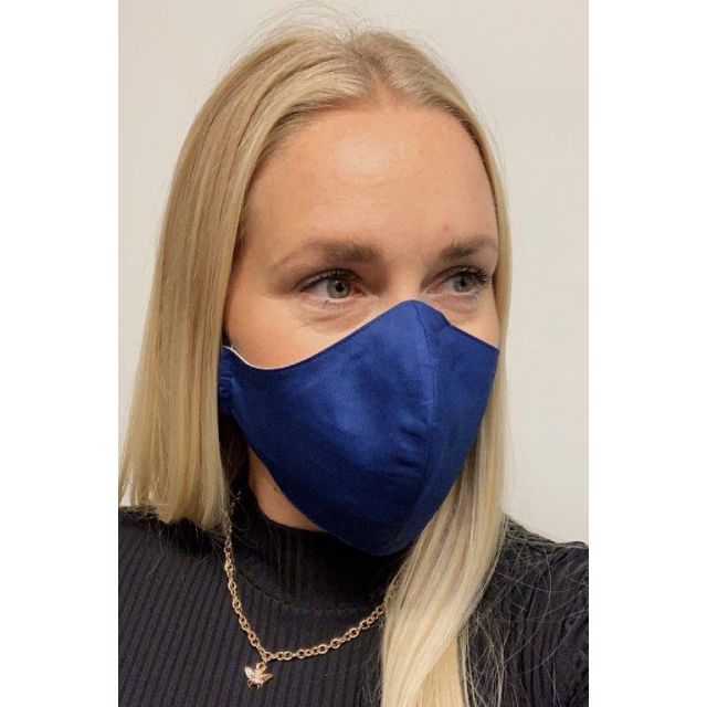 3-layer washable facemask Skyblue