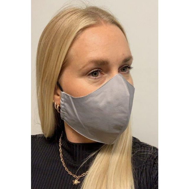 3-layer washable facemask Grey