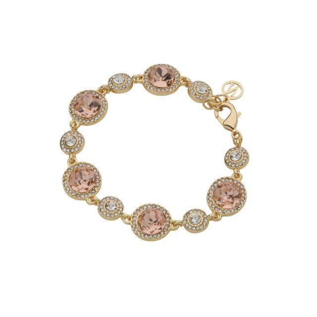 Opal brace gold Peach