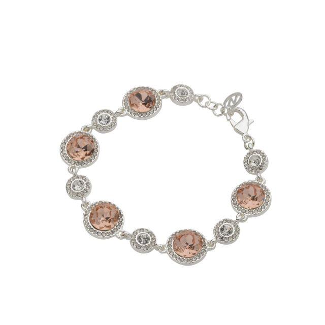 Opal brace silver Peach