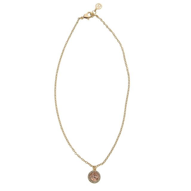 Opal neck 42 gold Peach