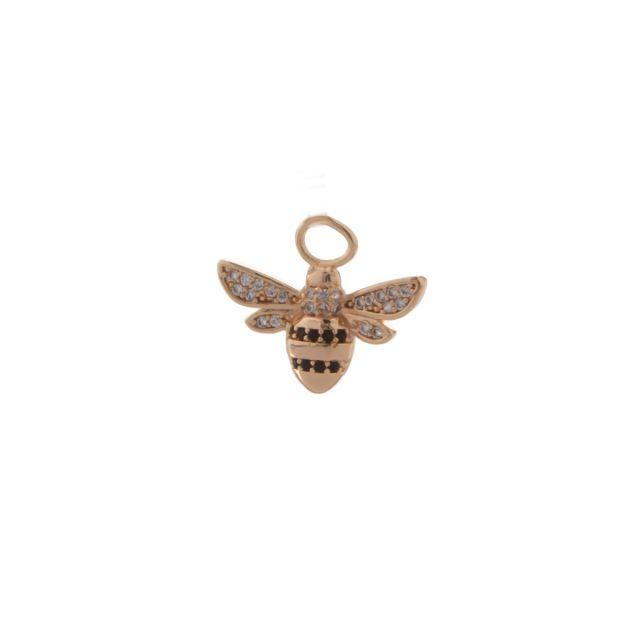 Pendant ear bee Black