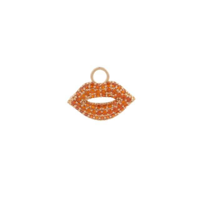 Pendant ear kiss Orange