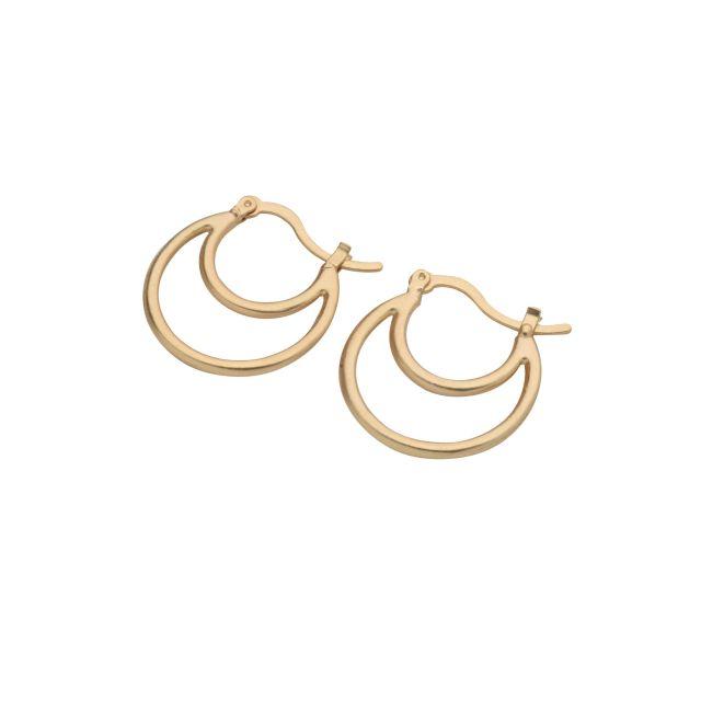Prato double ear matt Gold