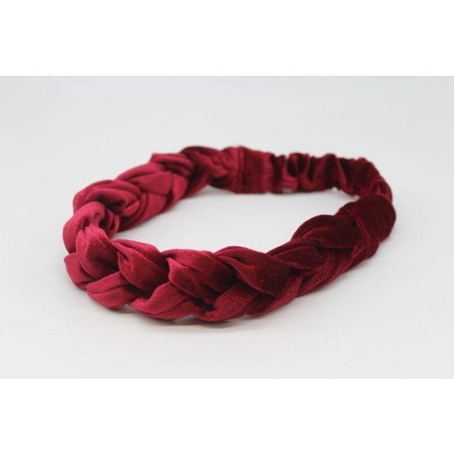 Hair ribbon velvet Wine