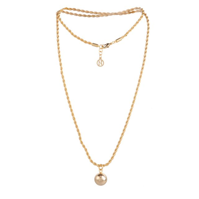 Rope neck 70 Gold