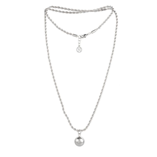 Rope neck 70 Silver