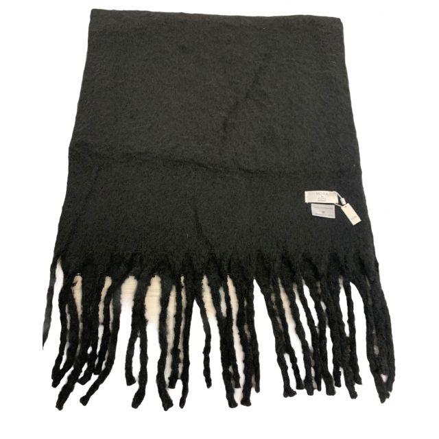 Scarf solid Black