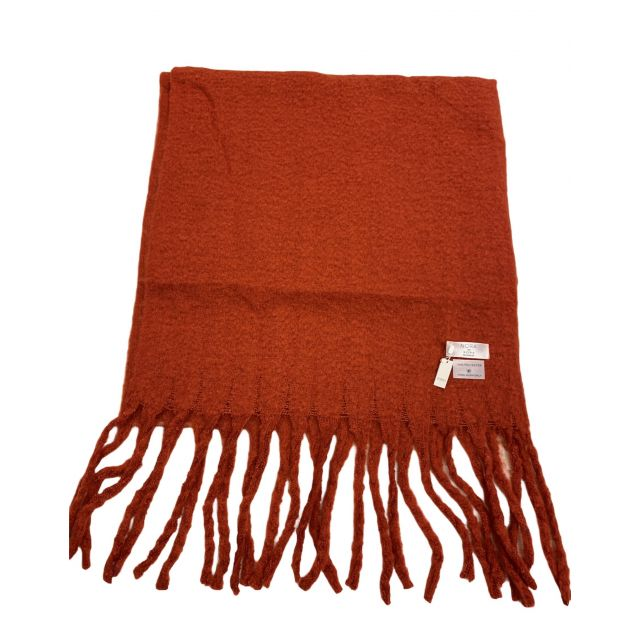 Scarf solid Rust