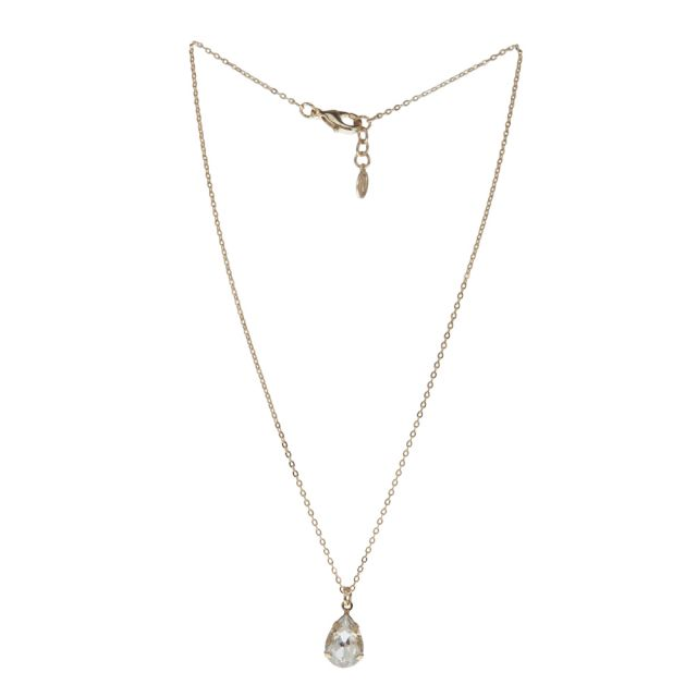 Valerie neck 42 gold Clear