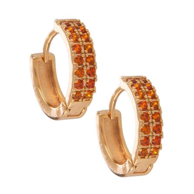 Whistler double ear gold Orange