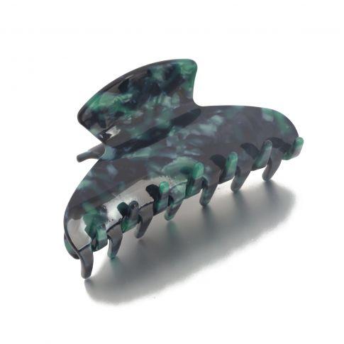 Hairclip oval 7cm Petrol